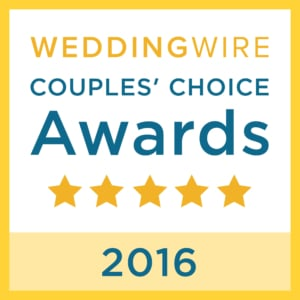 WeddingWireCouplesChoiceAward